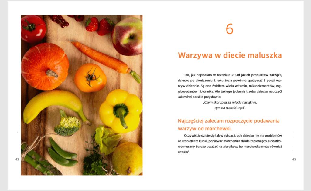 co jedzą szczęśliwe bobasy - warzywa